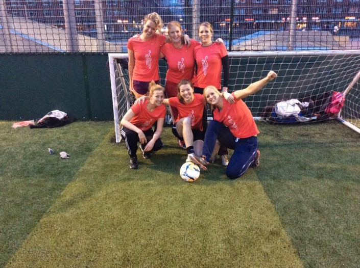 dames team powerleague